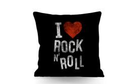 Just me - Kırlent Rock N Roll Temalı Çift Taraflı