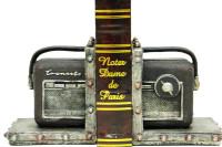 Self Design - Kitap Stoper Radyo Kahverengi