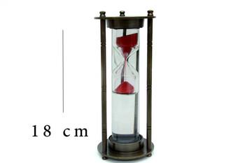 MNK - 18 Cm 1 Dakikalık Sulu Kum Saati (1)