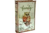 CROWNWELL - Kutu Kitap Aynalı Baykuş
