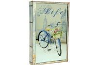 CROWNWELL - Kutu Kitap Aynalı Bisiklet