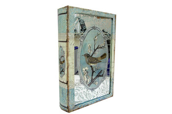 Self Design - Kutu Kitap Aynalı Dalda Kuş