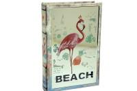 CROWNWELL - Kutu Kitap Aynalı Flamingo