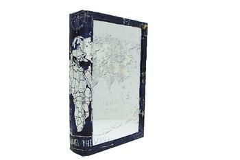 Self Design - Kutu Kitap Aynalı Globe