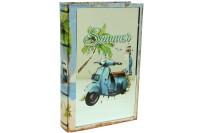 CROWNWELL - Kutu Kitap Aynalı Scooter