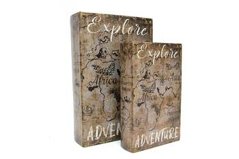 Self Design - Kutu Kitap Explore Adventure 2'li Set