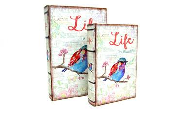 Self Design - Kutu Kitap Life 2'li Set