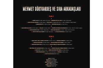 CROWNWELL - Mehmet DörtKardeş Ve Sıra Arkadaşları (2.Plak ) 33-Lp (1)