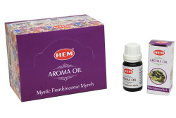Hem - Mystıc Frankincense Myrrh Aroma Oil 10Ml (1)