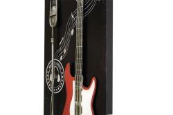 MNK - Pano Kırmızı Gitar (1)
