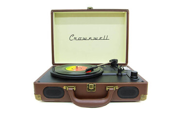 Crownwell - Pikap Çantalı Crownwell Önden Hoparlörlü Kahverengi