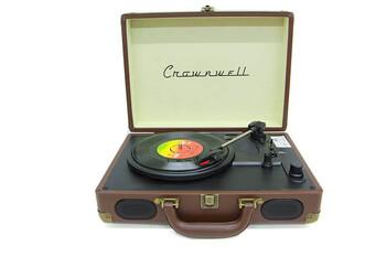 Pikap Çantalı Crownwell Önden Hoparlörlü Kahverengi - Thumbnail