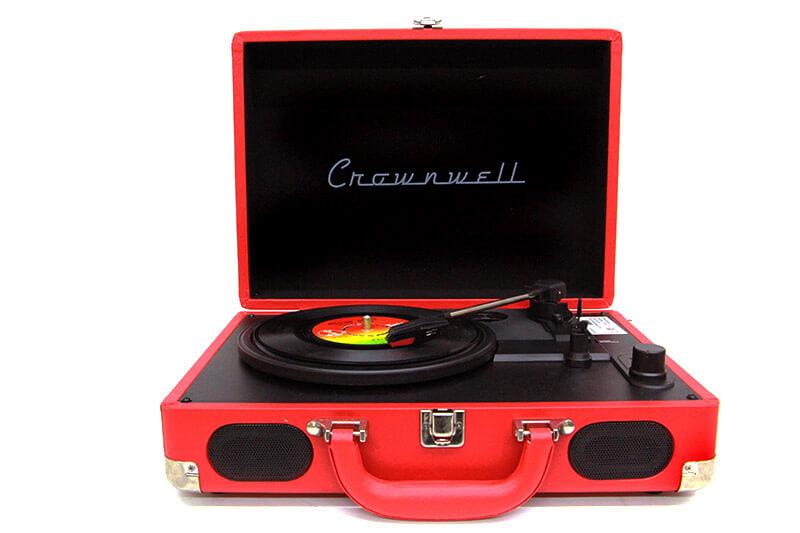 Pikap Çantalı Crownwell Önden Hoparlörlü Kırmızı