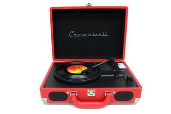 Pikap Çantalı Crownwell Önden Hoparlörlü Kırmızı - Thumbnail
