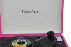 CROWNWELL - Çantalı Pikap Crownwell Pembe Önden Hoparlörlü (1)
