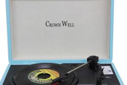 CROWNWELL - Çantalı Pikap Crownwell Sky Blue Önden Hoparlörlü (1)
