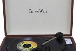 CROWNWELL - Çantalı Pikap Kahverengi Crownwell Yandan Hoparlörlü (1)