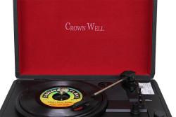 CROWNWELL - Çantalı Pikap Crownwell Siyah Yandan Hoparlörlü (1)