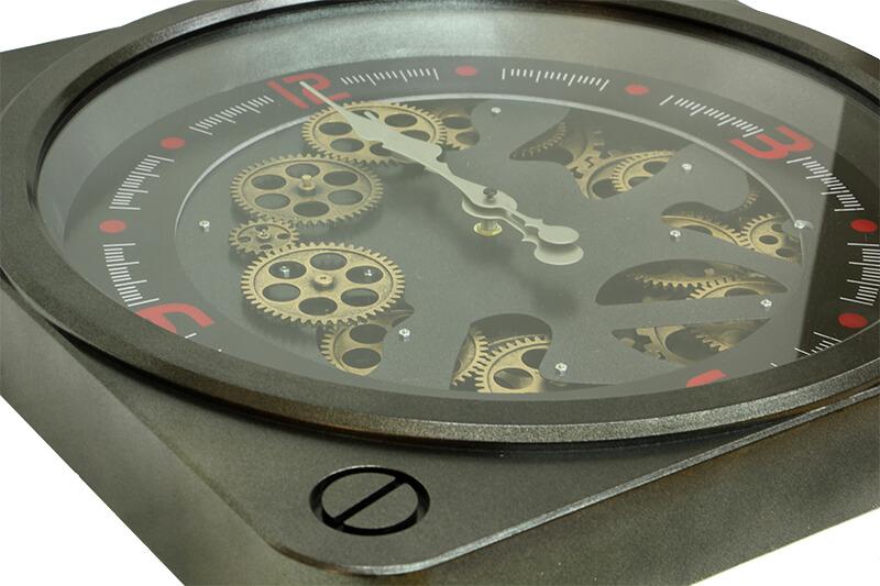 Saat Çarklı Kare