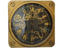 Crownwell - Saat Çarklı Kare Roma Rakamlı