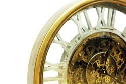 Crownwell - Saat Çarklı Yuvarlak Roma Rakamlı (1)