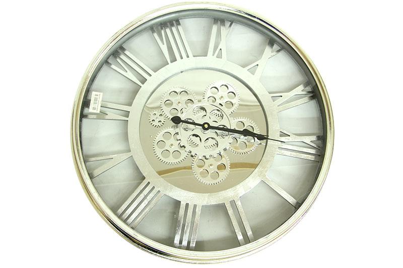 Saat Çarklı Yuvarlak Roma Rakamlı