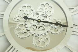 Saat Çarklı Yuvarlak Roma Rakamlı - Thumbnail