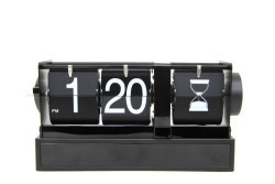 CROWNWELL - Saat Masa Üstü Flip