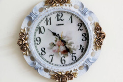 Antiq Design - Sarkaçlı Duvar Saati (1)