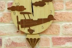 Self Design - Saat Sarkaçlı Uçak (1)