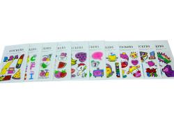 Self Design - Sticker Karışık (1)