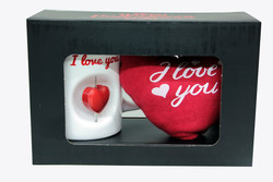 - Stres Kupa Peluş Kalp l Love You (1)