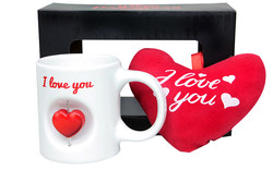 - Stres Kupa Peluş Kalp l Love You