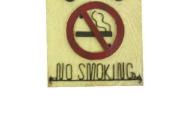 Mnk - Tabela No Smoking Nostaljik Araba Figürlü (1)