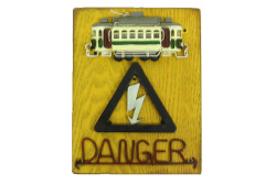 MNK - Tabela Tehlike Tranvay Figürlü