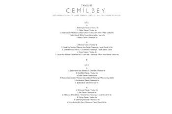 CROWNWELL - Tanburi Cemil Bey Külliyattan Seçmeler 33-Lp (2 Plak) (1)