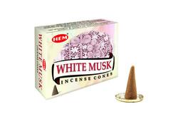 Hem - White Musk Cones
