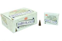 HEM - White Sage Cones