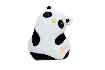 Self Design - Yastık Polar Peluş Panda Siyah Beyaz