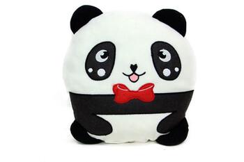 Just me - Yastık Polar Peluş Papyonlu Panda 32 cm
